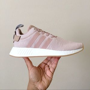 Adidas NMD R2 Ash Pearl Tan Khaki Sneakers